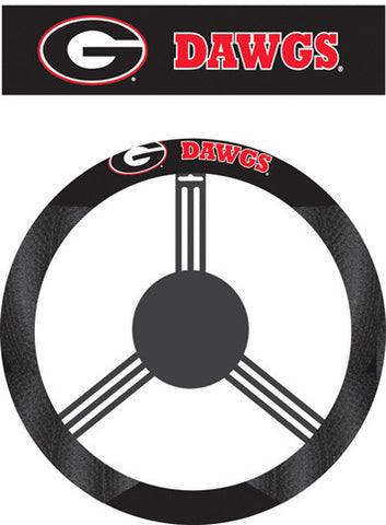 NCAA Steering Wheel Cover Georgia Bulldogs