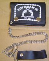 Don't Tread/2nd Amend Tri fold Wallet with Chain