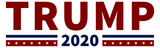 "Trump 2020 3""x 9"" Stickers"