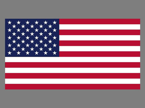 Super Knitted Polyester USA Flag 3' X 5'
