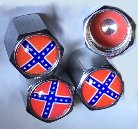 Battle Flag Valve Stem Caps