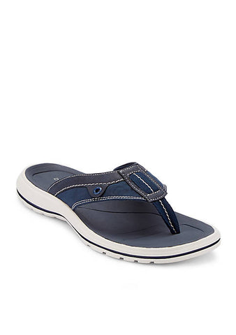 Dockers Men's Waldport Navy Thong Flip-Flop