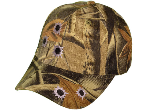 Camo w/ Bullet Holes Baseball Caps - Hawkins Footwear and Sports  - 1