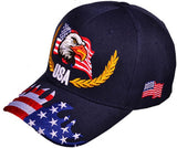 USA Flag Eagle Hat HT481