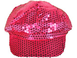 SEQUIN NEWSBOY DIVA FASHION HATS CAPS - Hawkins Footwear and Sports  - 11