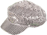 SEQUIN NEWSBOY DIVA FASHION HATS CAPS - Hawkins Footwear and Sports  - 5