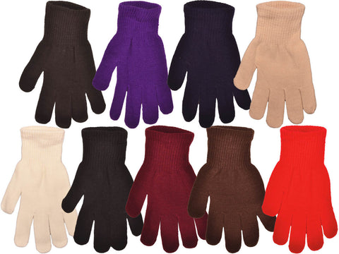Adult Knit Magic Gloves