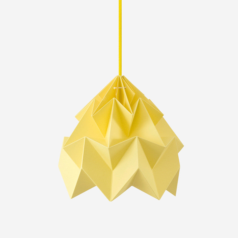 Moth Paper Origami Lamp – Autumn