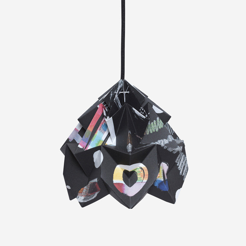 Moth Paper Origami Lamp – Nacht