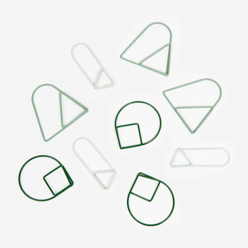 Paper Clips – Green
