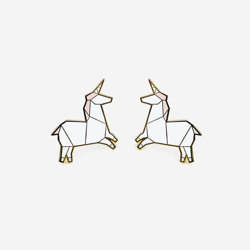 Unicorn Earrings - Pink