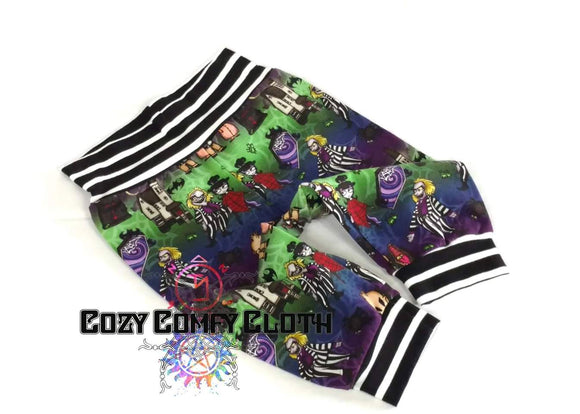 5T Beetlejuice Capri Leggings