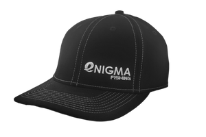 Enigma Black with White Pinstripe Hat