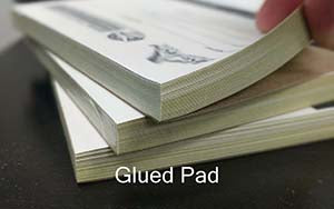 Glued Pad