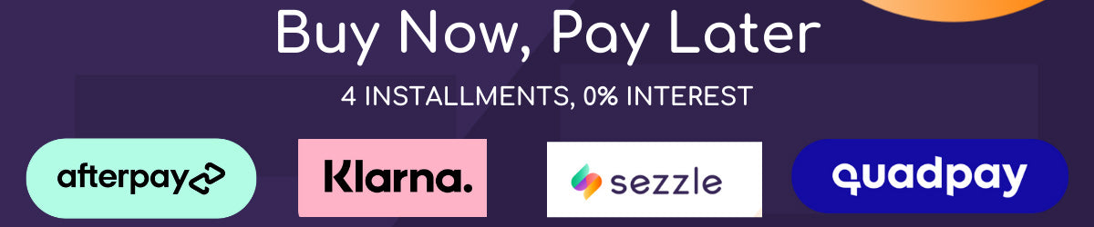 installment payment options klarna afterpay sezzle