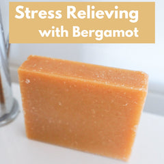 stress relief with bergamot essential oil