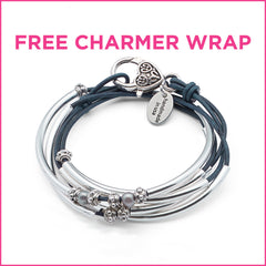 Free Charmer wrap bracelet offer with minimum purchase