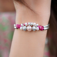free Vitality pearl bracelet offer in honor of Breast Cancer Awareness