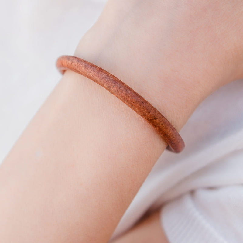 Devon Round Leather Bracelet
