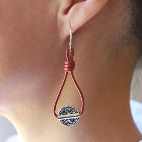 Ellen teardrop earrings