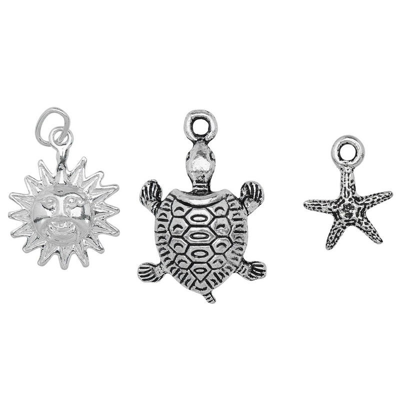 Fun in the Sun Charm Trio