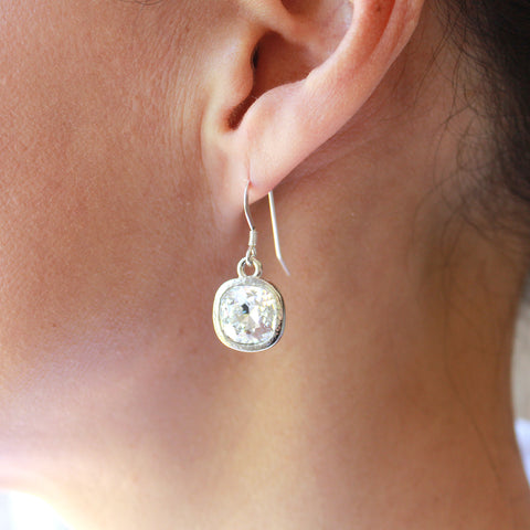 Gisele crystal drop earrings