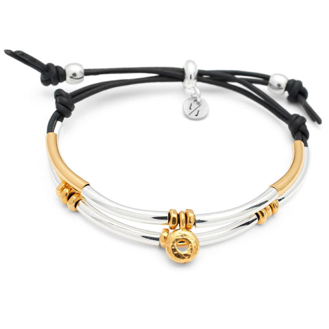 India adjustable bracelet in gold and silver