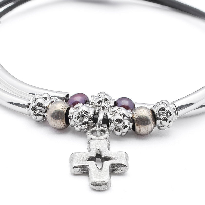 Faith Bracelet with Cross Charm