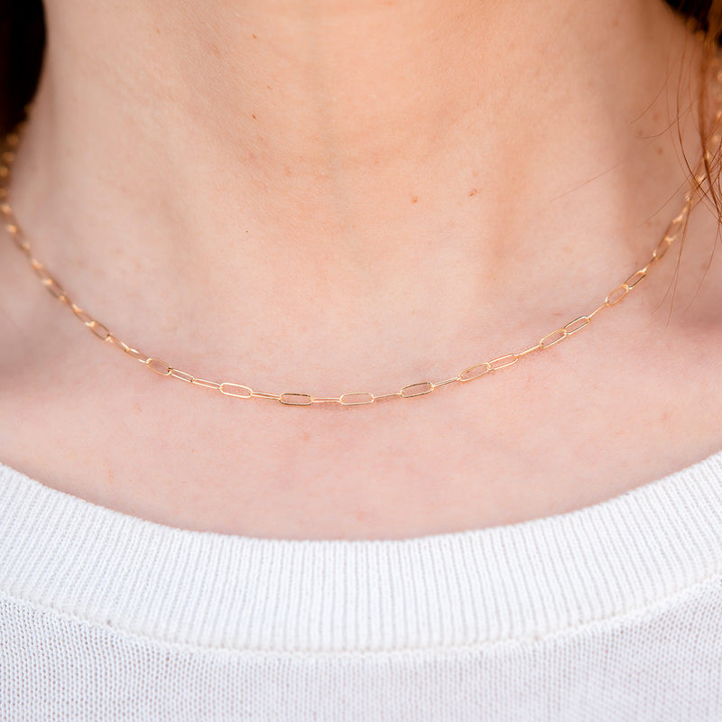 Kate 14k Gold Filled Luxury Chain Necklace