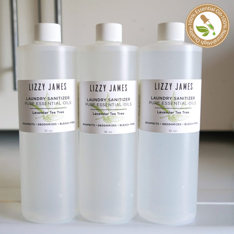 Laundry Sanitizer with Lavender & Tea Tree Essential Oils 3 Pack