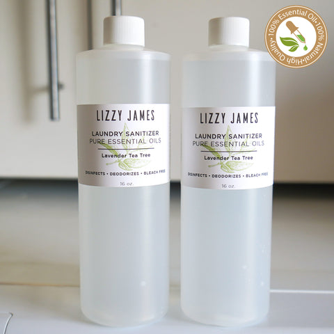 Laundry Sanitizer with Lavender & Tea Tree Essential Oils 2 Pack