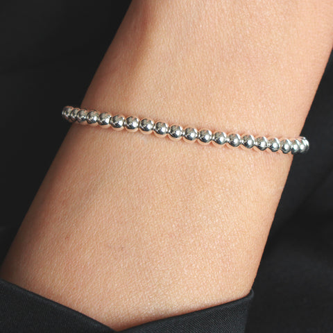 Memphis Adjustable Sterling Silver Bracelet