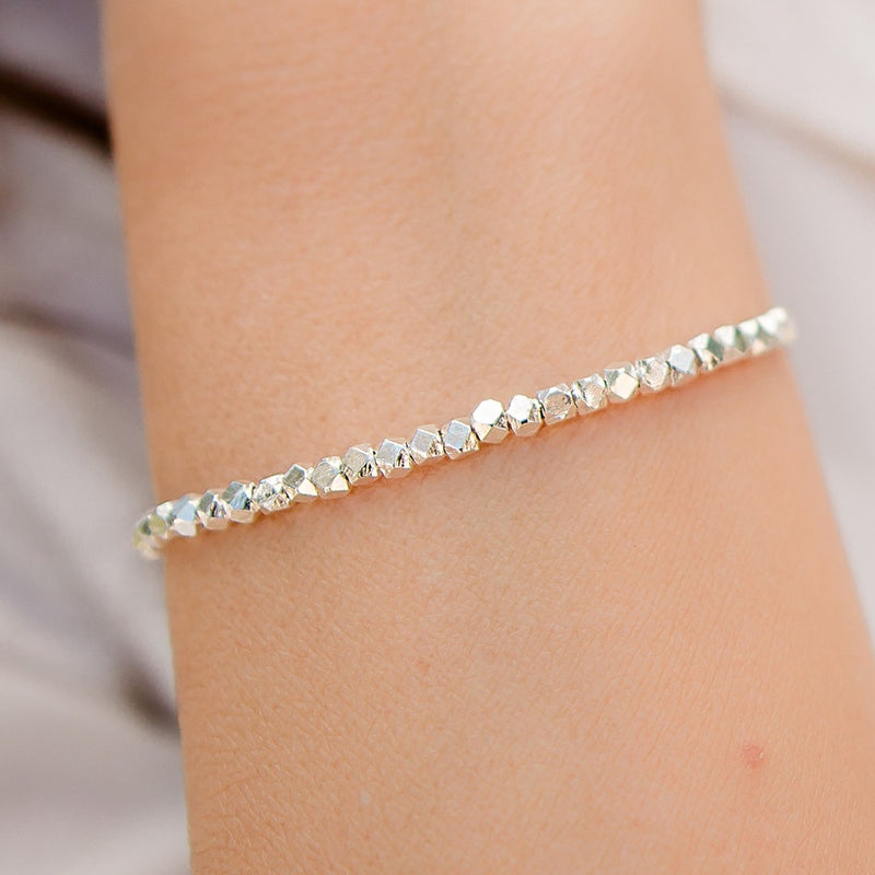 Riviera Sterling Silver Adjustable Bracelet
