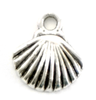 SHELL charm for Lizzy James leather wrap charm bracelets