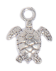 Deep Sea Turtle charm for lizzy james silver and leather charm bracelets