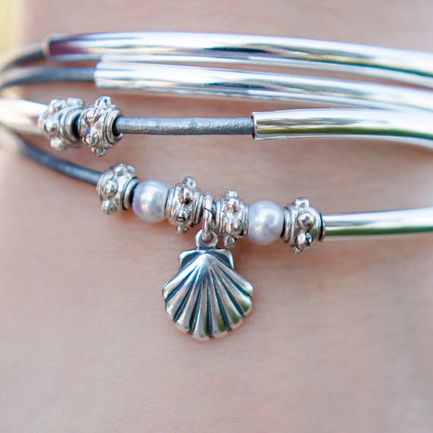 Sterling Silver Small Shell (orig. $28)