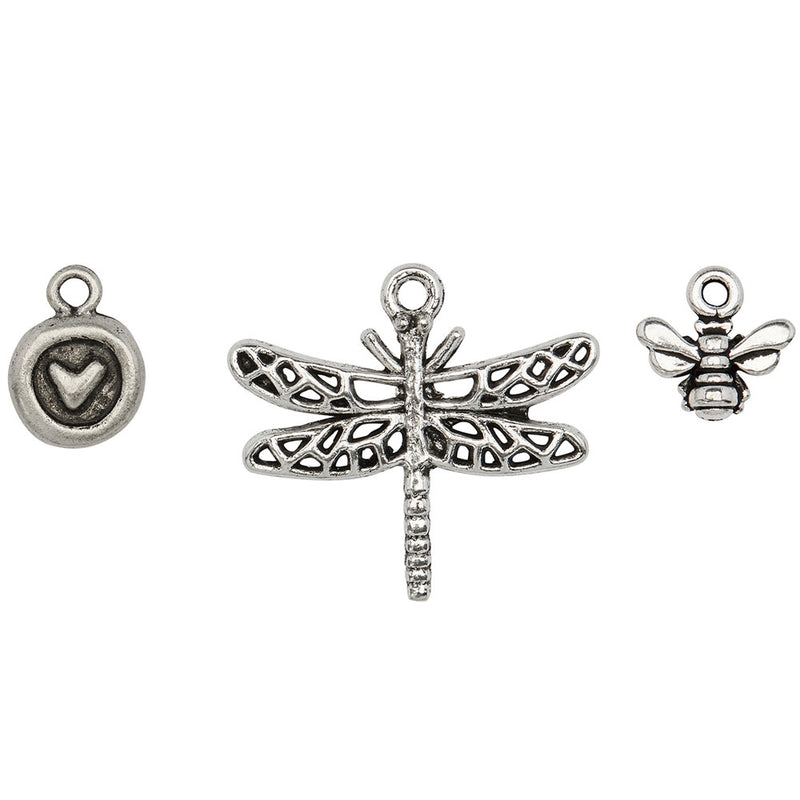 The Bees Knees Charm Trio