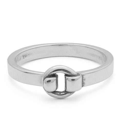 Union Sterling Silver Ring