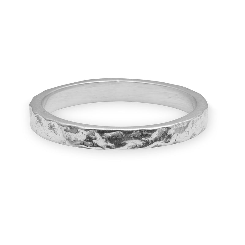 Hammered Sterling Silver Ring- Limited Edition