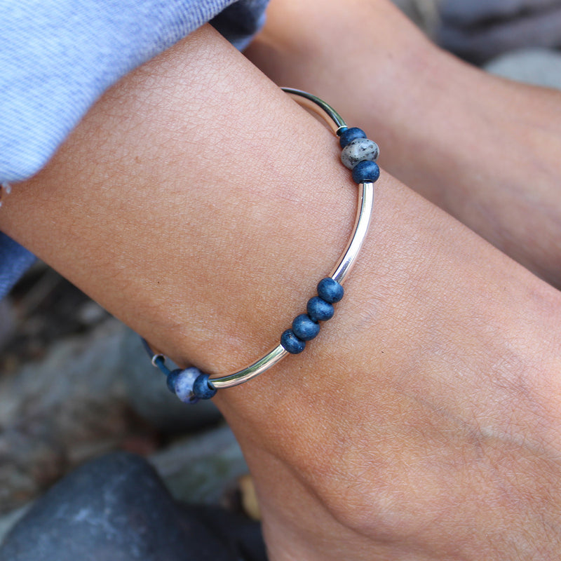 Indigo Anklet Add Your Charm Choice