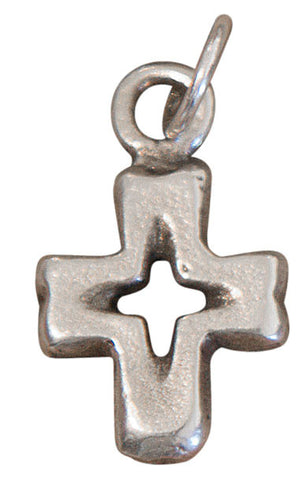 Open Cross Charm