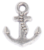 small Anchor charm for Lizzy James leather wrap charm bracelets