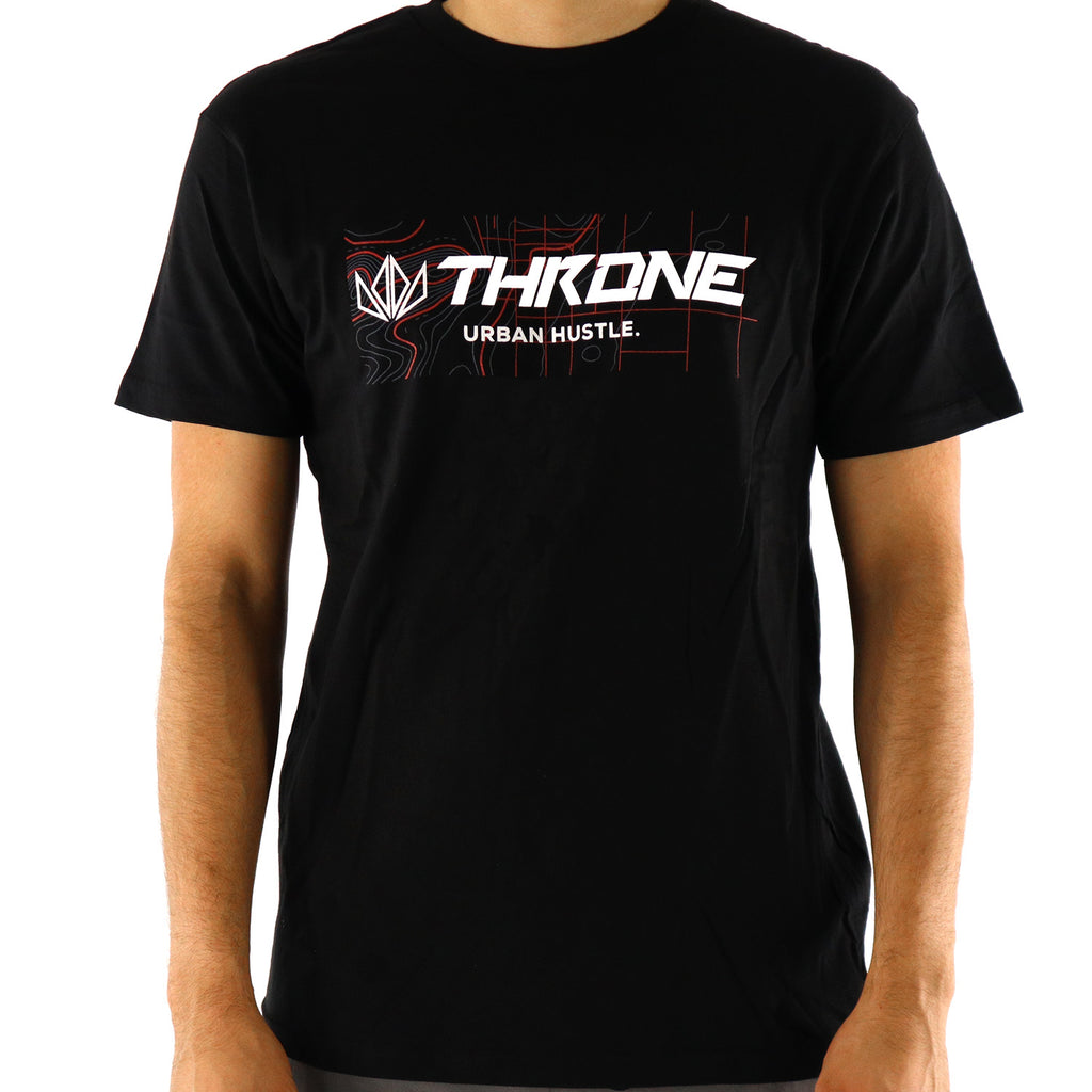 Throne Cycles Urban Hustle Official Tee