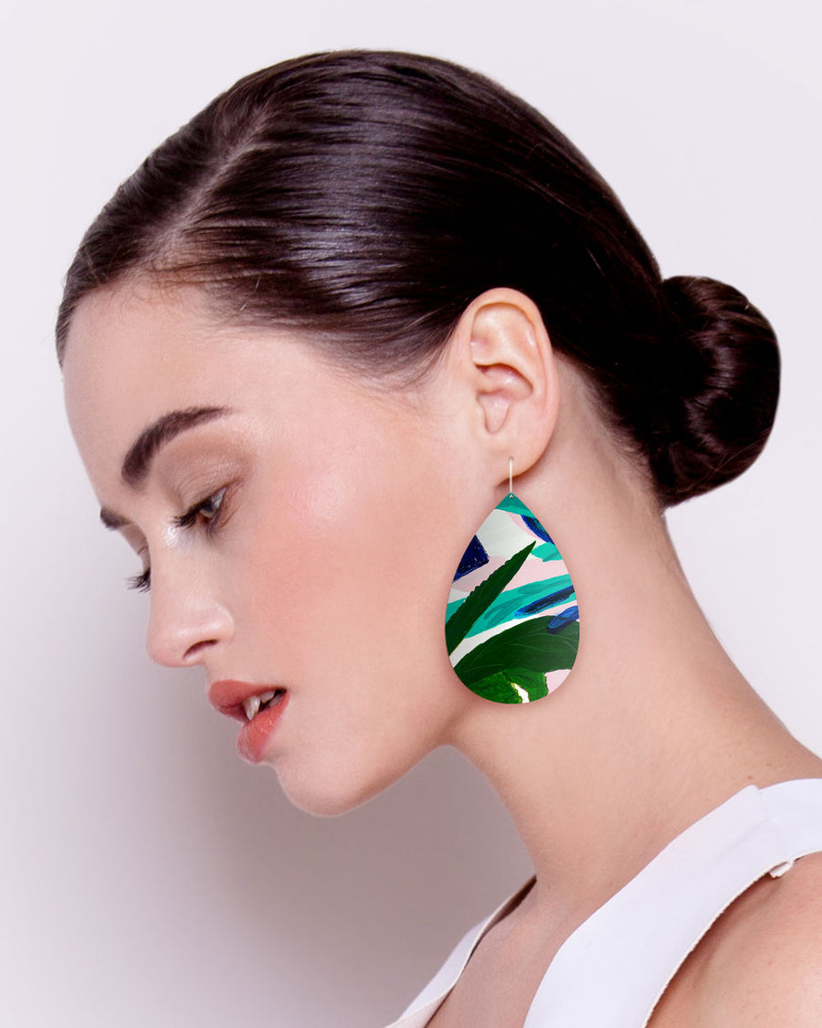 Hero Kate Mayes Big Tear Drop Earrings