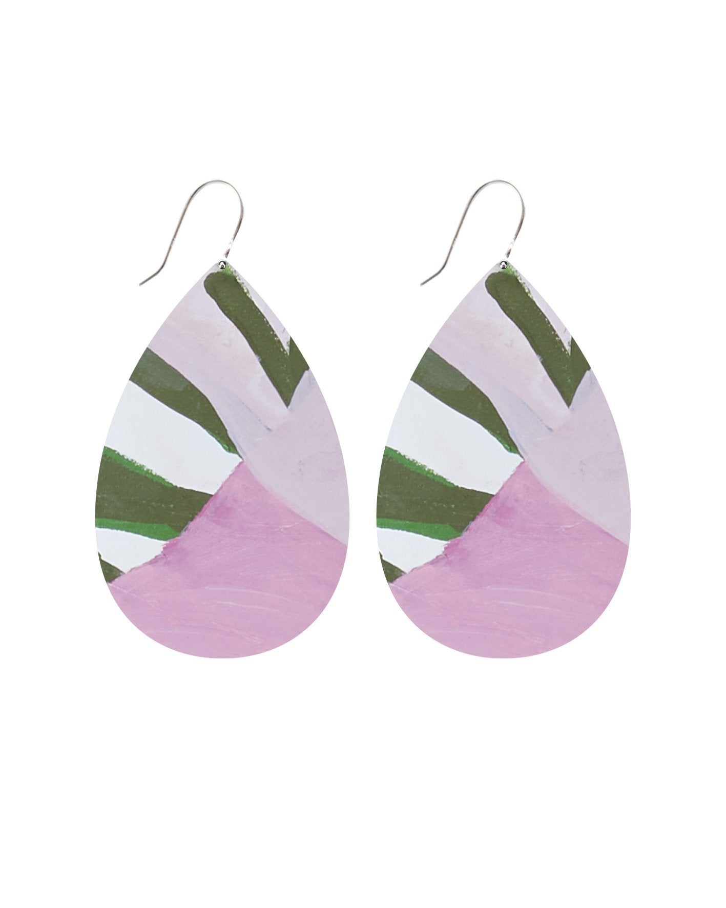 Wild Kate Mayes Big Tear Drop Earrings
