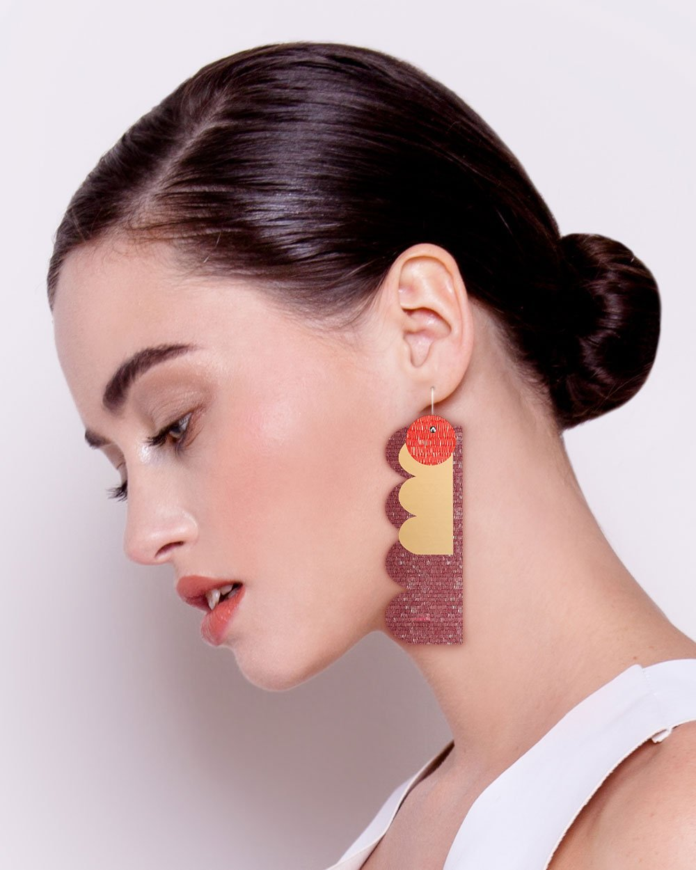 Vermillion Candice Perese Mega Stack Earrings