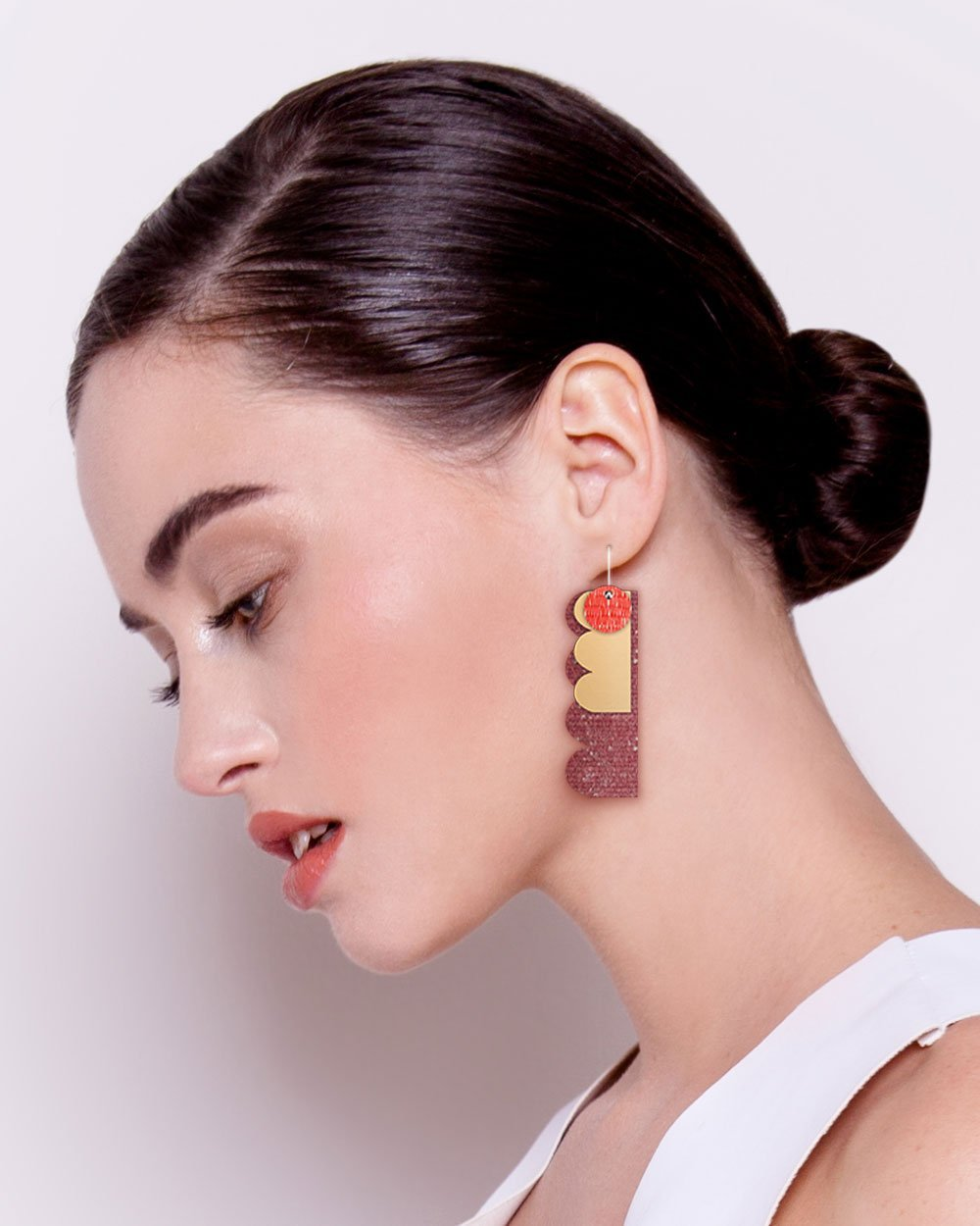 Vermillion Candice Perese Petite Stack Earrings