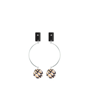 Community Miimi and Jiinda Pendulum Link Stud Earrings