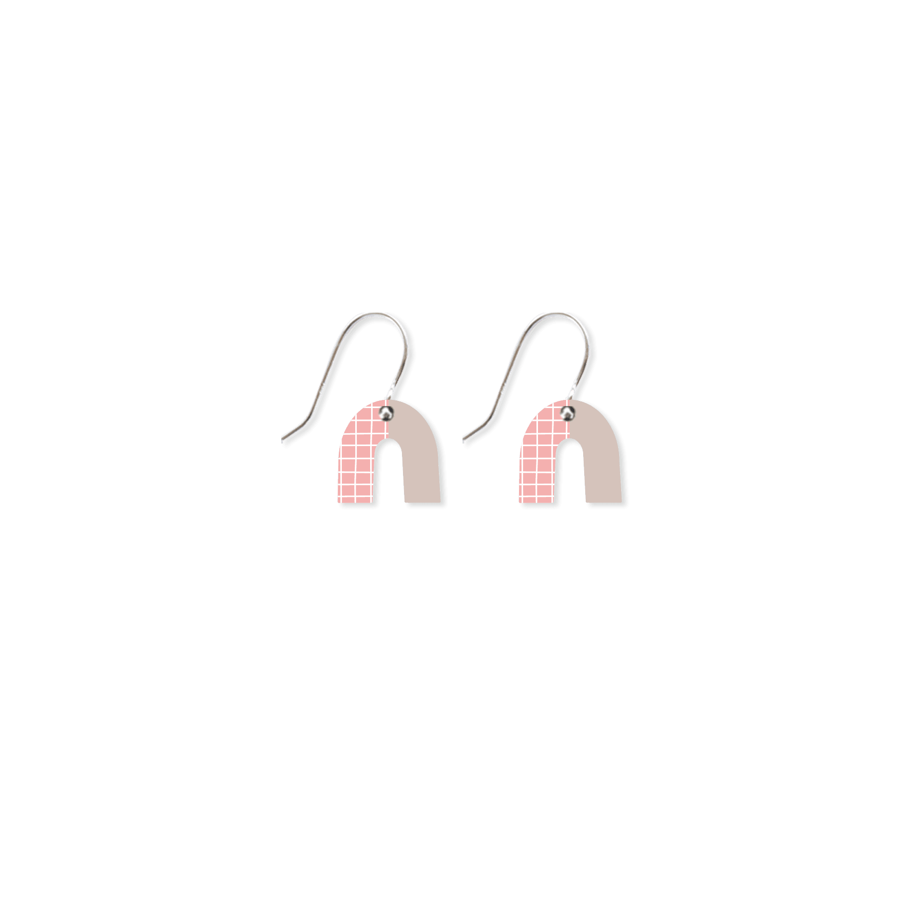 Date Night Small Rainbow Arch Drop Earrings