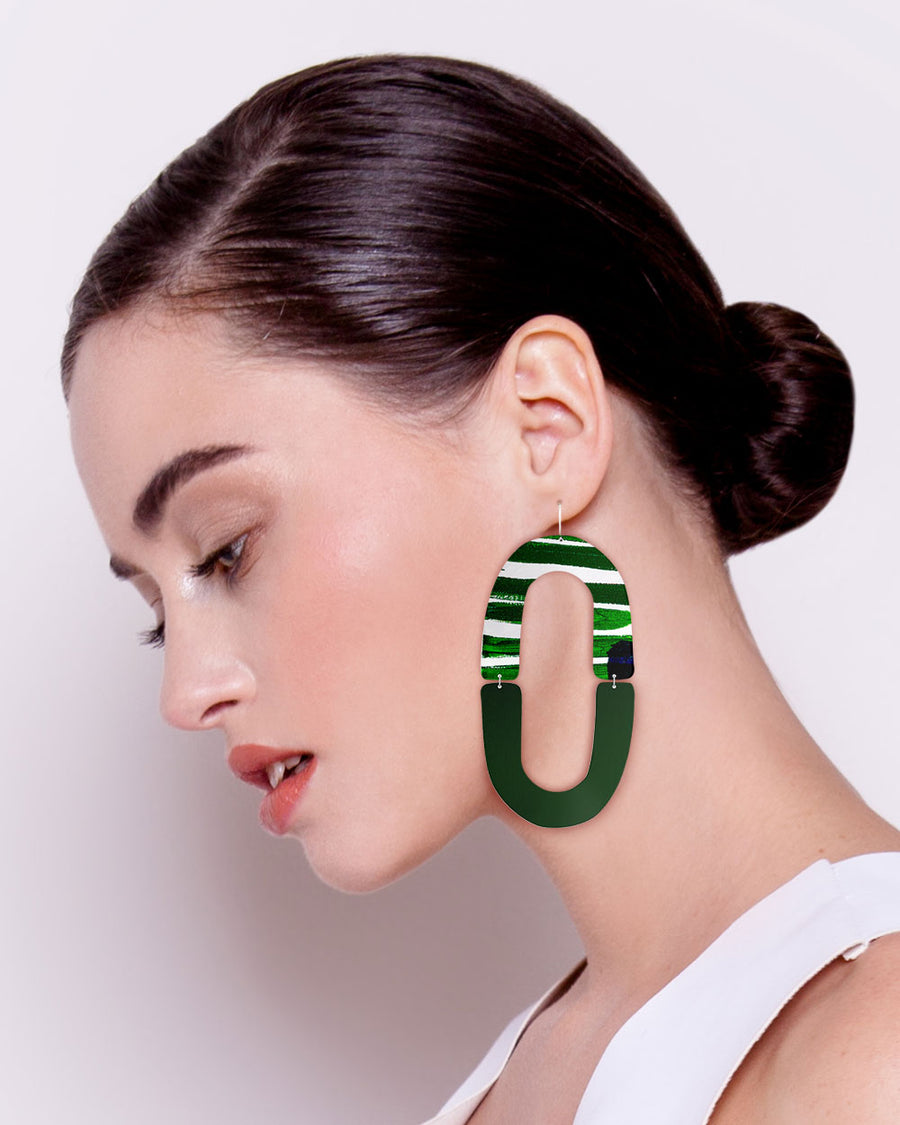 Hero Kate Mayes Double Arch Drop Earrings